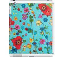 Bloom field iPad Case/Skin