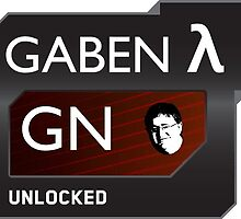 Lord Gaben Unlocked. by DubstepParrot