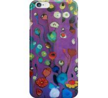 Bloom field - Purple iPhone Case/Skin