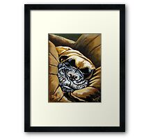 BB Girl, Don't Forget To Take Naps #5 Framed Print
