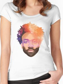 childish gambino - the rappers Women's Fitted Scoop T-Shirt