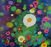 Bloom field - Night by chriscozen