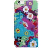 Bloom field - Magenta iPhone Case/Skin