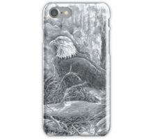Bald Eagle Watching Over the Chicks  iPhone Case/Skin