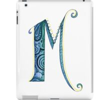 The Letter M iPad Case/Skin