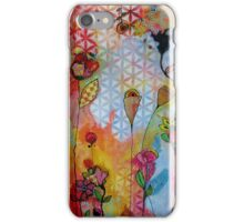 Pretty Patterns/orange iPhone Case/Skin
