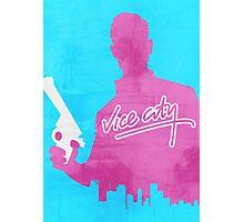 GTA Vice City Minimalistic Design Photographic Print