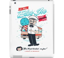Mr. White's Blue Ice iPad Case/Skin