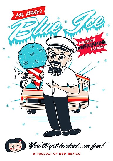 Mr. White's Blue Ice by mechantefille