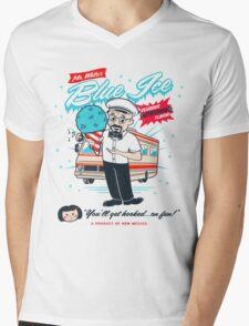 Mr. White's Blue Ice Mens V-Neck T-Shirt
