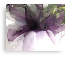 Abstract ribbon Metal Print