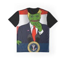 President Pepe Graphic T-Shirt