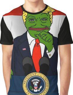President Pepe Graphic T-Shirt