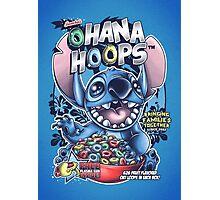 Ohana Hoops! Photographic Print