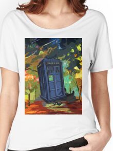 overwrite tardis Women's Relaxed Fit T-Shirt