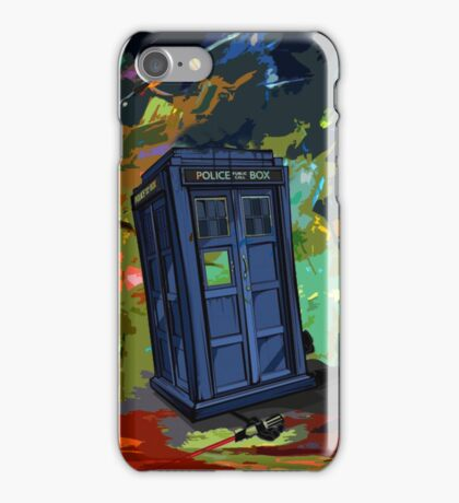 overwrite tardis iPhone Case/Skin