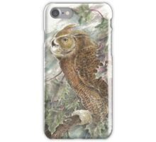 The Great Horned Owl iPhone Case/Skin