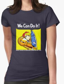 We Can Do it! Womens Fitted T-Shirt