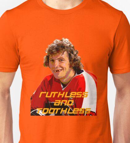 Bobby Clarke Ruthless and Toothless Unisex T-Shirt