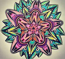 Rainbow Star Flower by aaagroovy