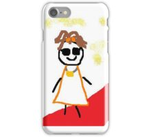 Jenny Quips:  Rock Star! iPhone Case/Skin