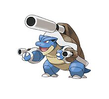 Mega Evolution Blastoise Photographic Print