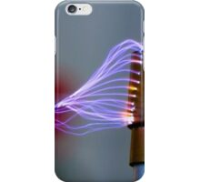 Tesla Coil 1 iPhone Case/Skin