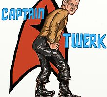 Captain Twerk by Jaime Cartwright