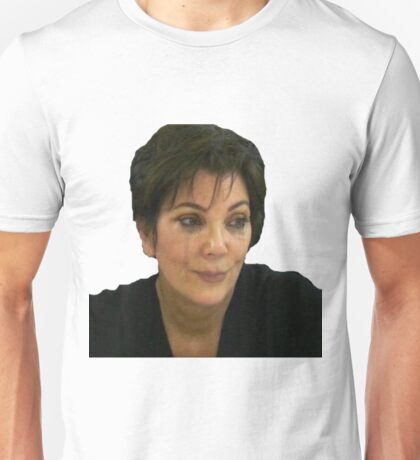 Kris jenner crying Unisex T-Shirt