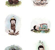 Munchkin Does Yoga! by kyecheng