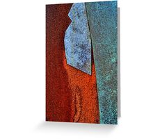 Copper Rust Greeting Card