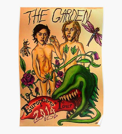 The Garden Euro Tour 2014 Poster Poster