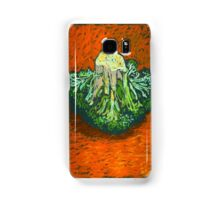 Broccoli in soft pastel. Simple still life. Samsung Galaxy Case/Skin