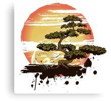 Bonsai Tree Karate Dojo Canvas Print