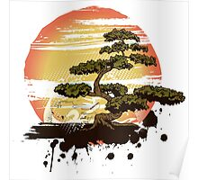 Bonsai Tree Karate Dojo Poster