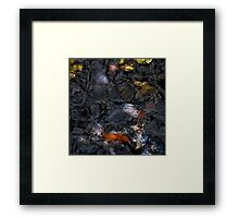 Black Waters 6 Framed Print