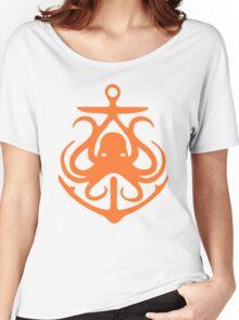 Octopus Anchor Women's Relaxed Fit T-Shirt