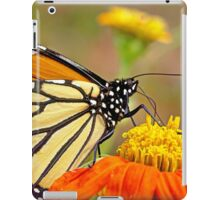 Monarch Of The Flowers iPad Case/Skin