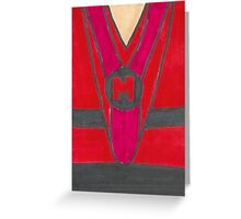 Mike ro wave chest Greeting Card
