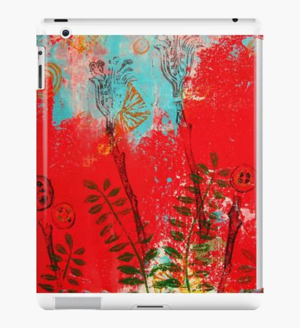 Carved blossoms iPad Case/Skin