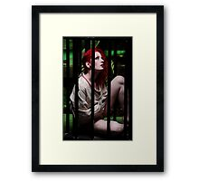 Crazy Cage Framed Print