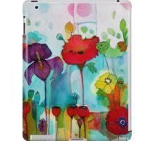 Watercolor iris iPad Case/Skin