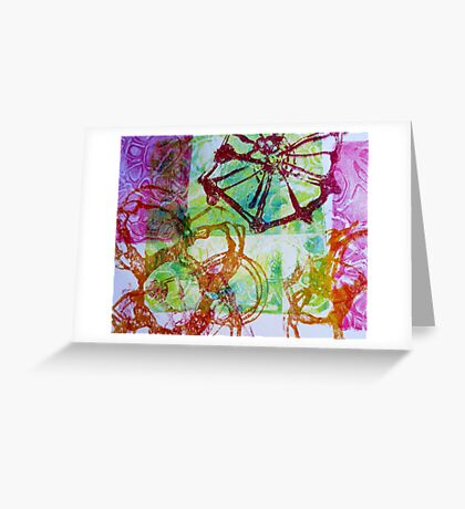 pattern play II Greeting Card