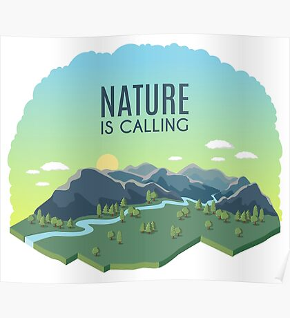 Nature is Calling Poster