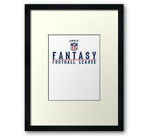 Fantasy Football Owner Framed Print