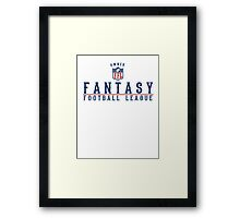 Fantasy Football Owner Framed Print
