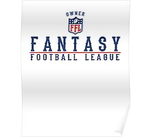 Fantasy Football Owner Poster