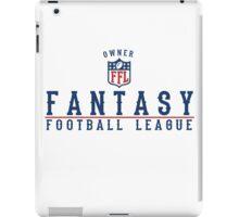 Fantasy Football Owner iPad Case/Skin