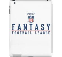 Fantasy Football Owner iPad Case/Skin