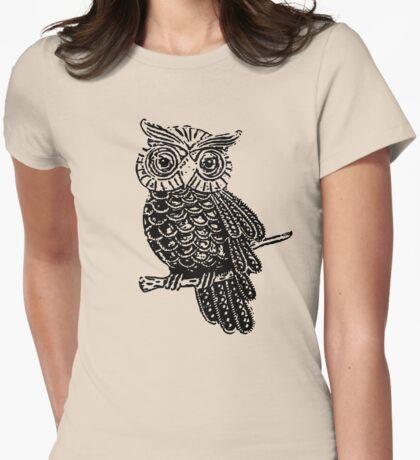 Cute Owl On Tree T-Shirt